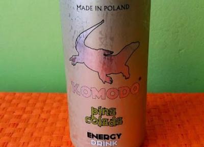 Testowanie produktów i nie tylko : Komodo czyli polska firma owocowych energetyków