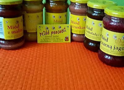 Testowanie produktów i nie tylko : Owocowe miody z Dębowej pasieki