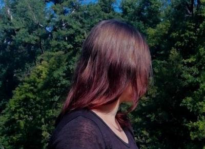 Zmywanie czerwonej farby z włosów!!