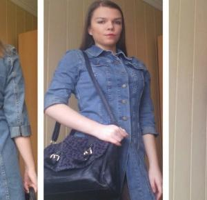 DOROTA FAISEAN: FIRST POST | DENIM DRESS
