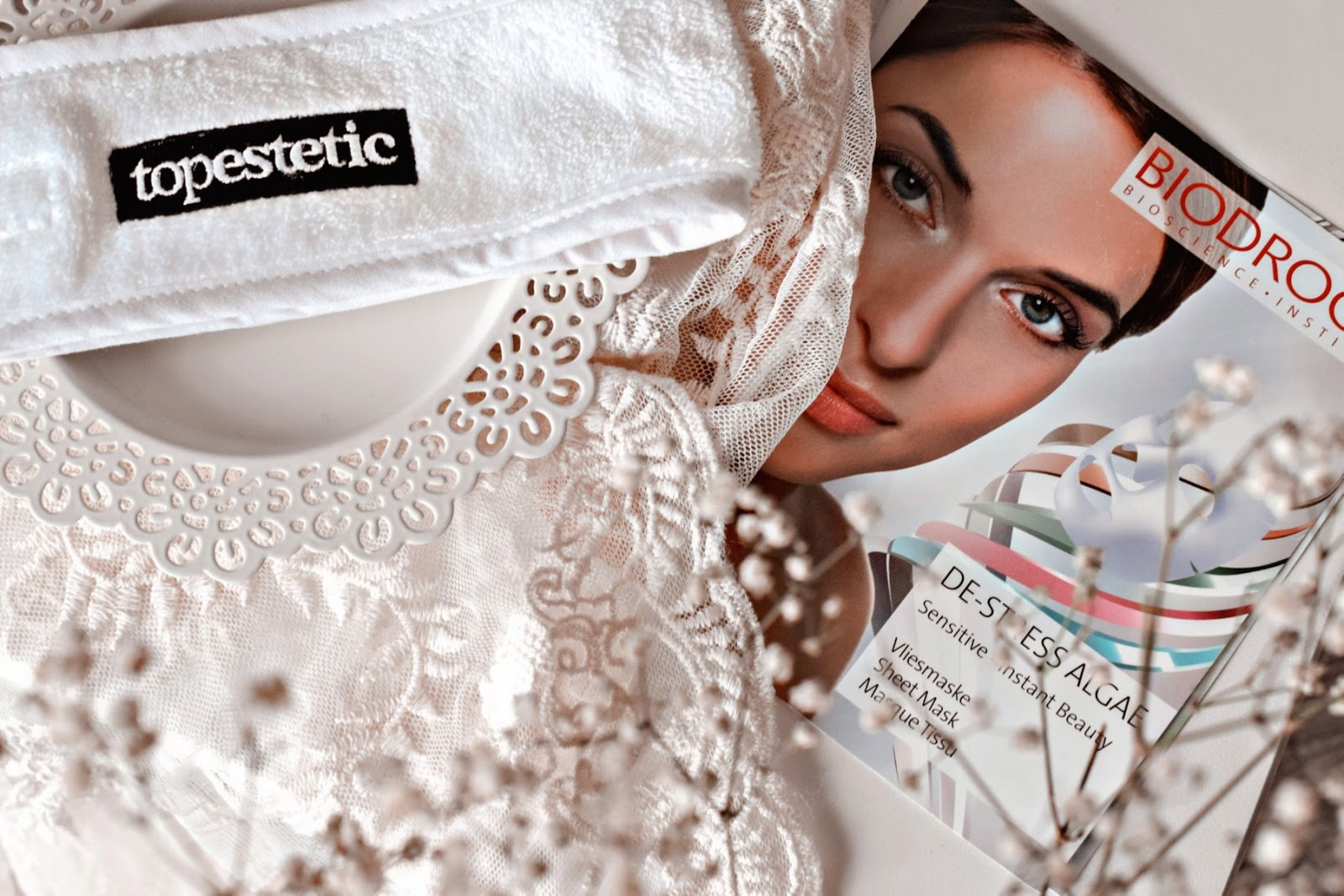 Maska w płachcie De-Stress Algae marki Biodroga Bioscience, TOPESTETIC