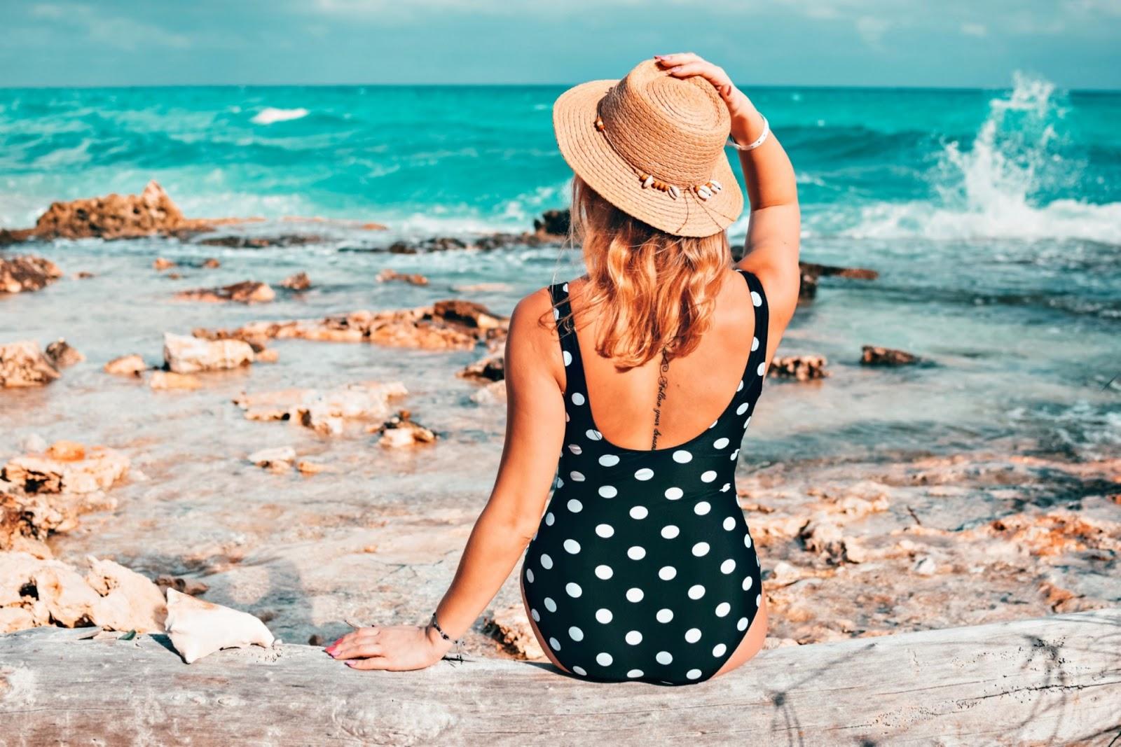 Sezon na grochy uważam za otwarty - moja plażowa stylizacja z Kuby