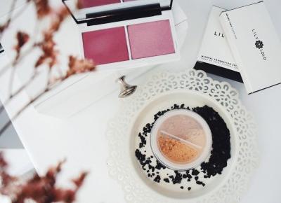 Prasowany róż i sypki podkład Lily Lolo