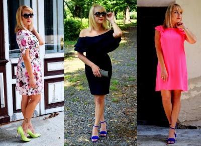 Trzy sukienki na różne okazje