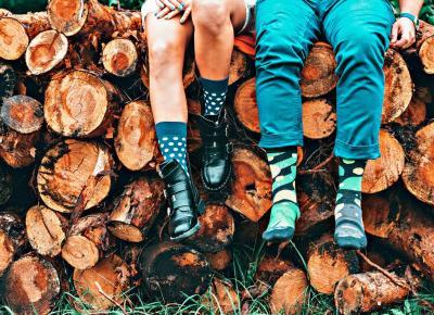 Kolorowa jesień z uroczymi skarpetkami Nanushki.com, czyli jak uprzyjemnić sobie ponure dni?