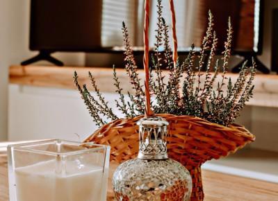 Zapachy do domu i świece tworzą miłą i przytulną atmosferę