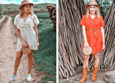 Dwie sukienki idealne na wiosenny piknik