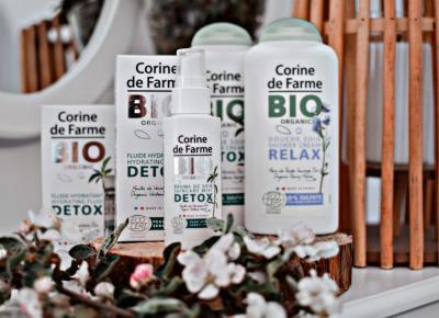 Przegląd kosmetyków Corine de Farme Bio Organic
