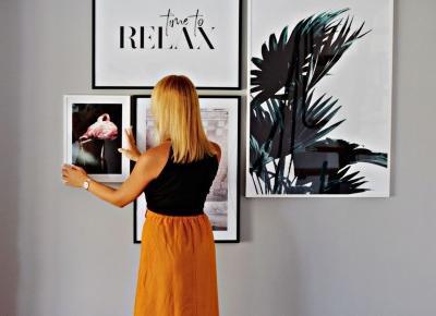 Nowe dekoracje w salonie – skandynawskie plakaty, DESENIO