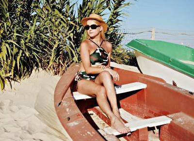 Strój kąpielowy Army Green, Lila Coco  - wakacyjny look