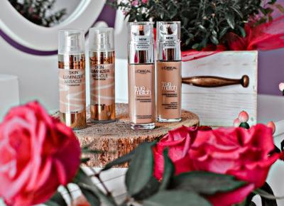 Max Factor Skin Luminizer Miracle czy L'Oréal Paris True Match, który podkład lepszy?