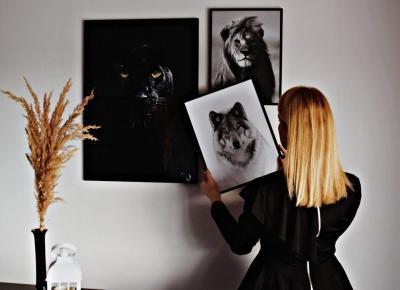 Dyed Blonde: Moje galerie naścienne z plakatami Poster Store