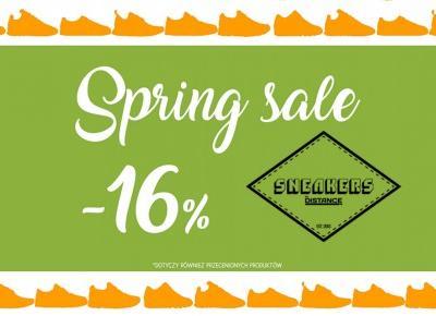 Zgarnij kod na -16% w sklepie Sneakers By Distance!