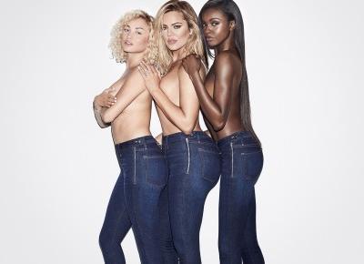 Khloe Kardashian prezentuje najnowszą jeansową kolekcję!