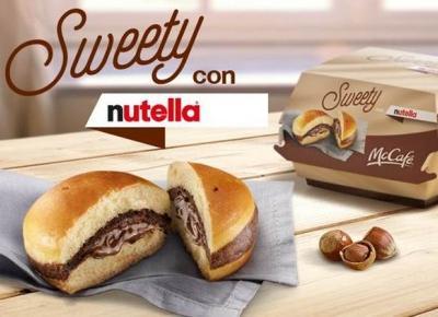 McDonald's wprowadził do swojej oferty kanapkę z Nutellą!