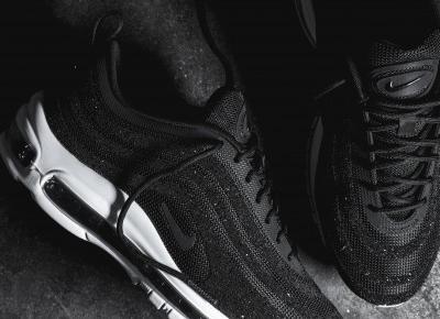 Damskie Nike Air Max 97 Lux z kryształkami Swarovskiego!