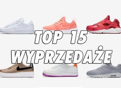15 najlepszych butów na wyprzedaży Nike - Black Friday