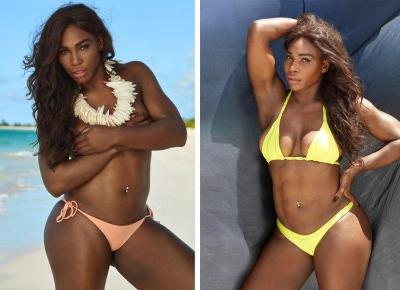 Serena Williams rozbiera się na potrzeby sesji do Sports Illustrated