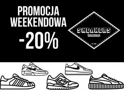 Zgarnij kod na -20% w sklepie Sneakers By Distance!