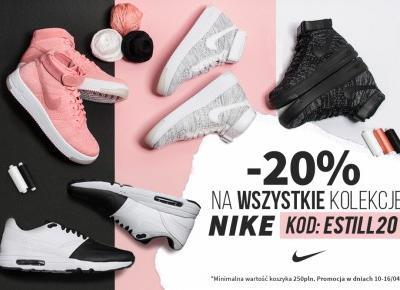 Zgarnij kod rabatowy na -20% z okazji tygodnia z Nike w SneakerStudio!