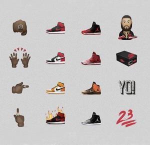 Emotki Air Jordan już niedługo w Twoim smartfonie!