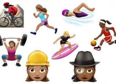 Aktualizacja IOS 10.2 - nowe emotki!