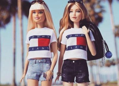 Gigi Hadid teraz jako lalka Barbie w ubraniach Tommy'iego Hilfigera!