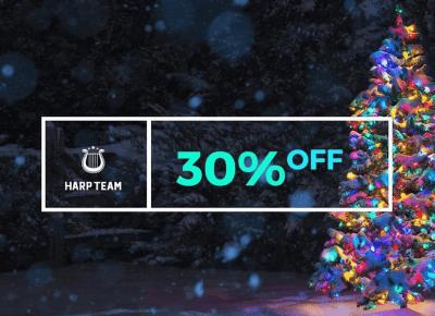 Zgarnij kod rabatowy na -30% w sklepie Harp Team!