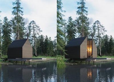 Dark House - nowoczesny dom bez okien i drzwi