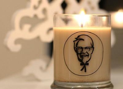 Limitowana linia świeczek o zapachu KFC!