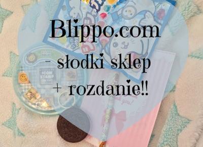 Blippo.com - słodki sklep + rozdanie!
