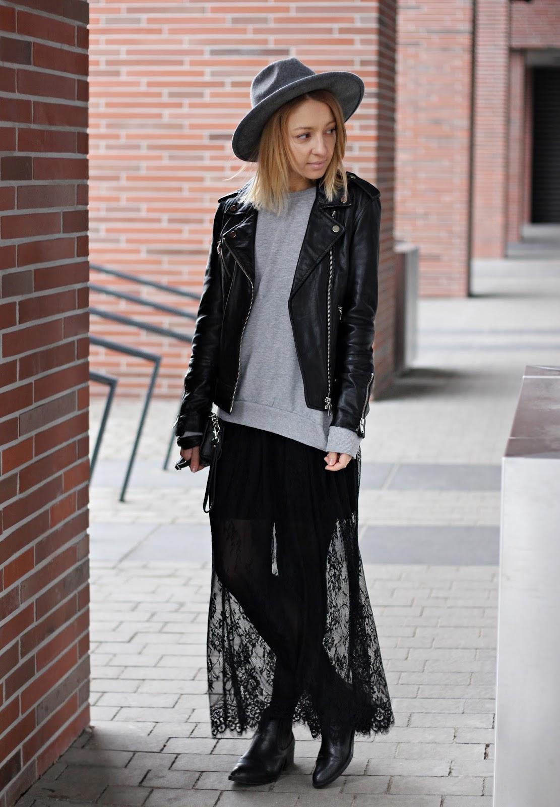 Emily Imagination: Koronkowa sukienka - trendy 2016