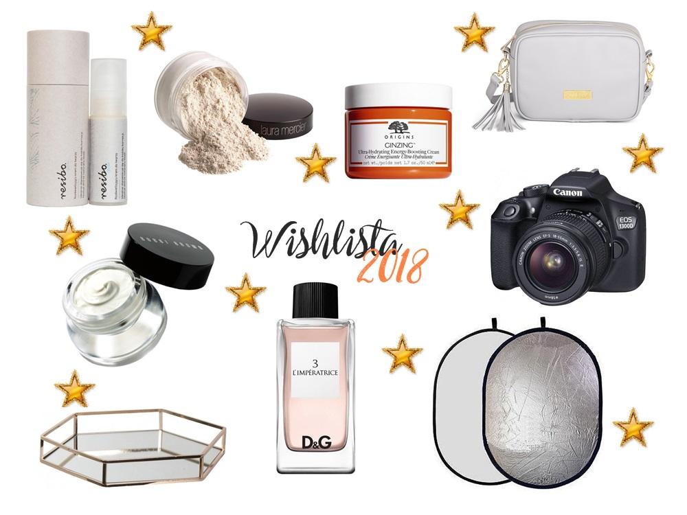 Wishlista 2018 (nie tylko kosmetyczna) - Enestelia - blog o urodzie i stylu życia