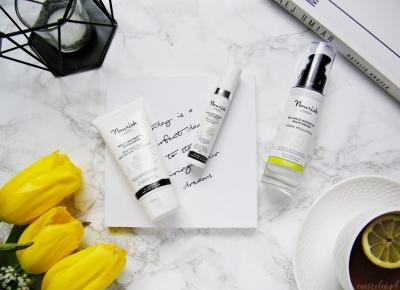 Ekologiczne, wegańskie kosmetyki do pielęgnacji twarzy Nourish - jak się u mnie sprawdzają? - Enestelia - blog o urodzie i stylu życia