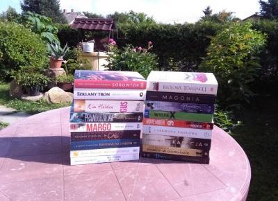 Książkowa Dusza: 20 książek, które chcę przeczytać w wakacje - Wakacyjny TBR