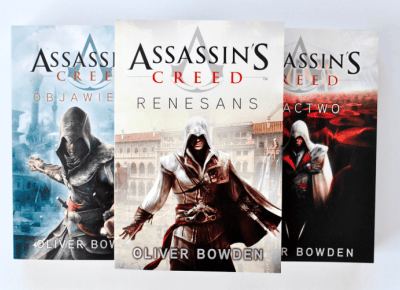 [RECENZJA] Oliver Bowden: Assassin's Creed Renesans - ▪ Mów mi Kate ▪ blog lifestylowy i recenzencki