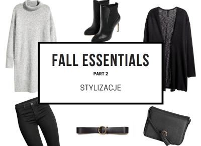 ▪ Mów mi Kate ▪ blog modowy i lifestylowy: Fall essentials: stylizacje