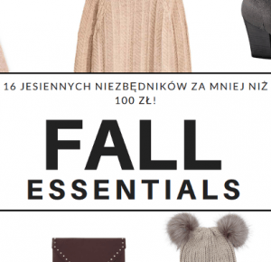 ▪ Mów mi Kate ▪ blog modowy i lifestylowy: Fall essentials