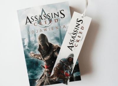 Zakładki do książek: Assassin's Creed i Final Fantasy XV - ▪ Mów mi Kate ▪ blog lifestylowy
