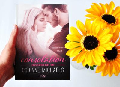 [RECENZJA] Corinne Michaels: Consolation - ▪ Mów mi Kate ▪ blog lifestylowy i recenzencki