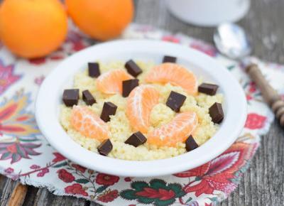 Sweet baking: Jaglanka mandarynkowa