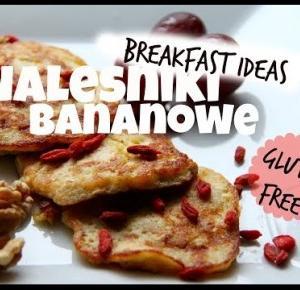 Breakfast Idea: Bezglutenowe Naleśniki Bananowe || Fanaforce