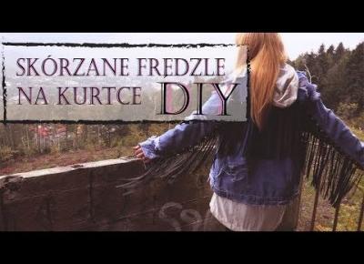 MODOWE DIY Frędzle i Ćwieki na Jeanowej Kurtce | ROKOWY STYL