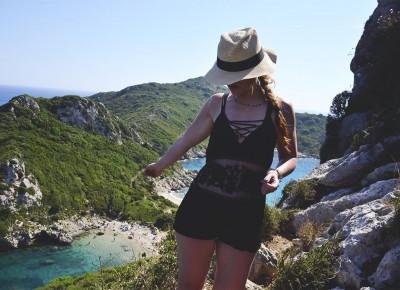 Jedna z najpiękniejszych plaż Corfu - Porto Timoni - Fashion Utopia