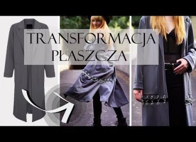 Modowe DIY | Jak Kreatywnie Pociąć Płaszcz?