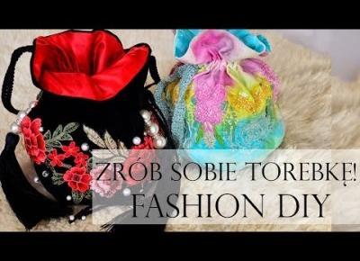 Zrób Sobie Torebkę! Wyszywane Róże i Perły | Modowe DIY | Krok po Kroku!