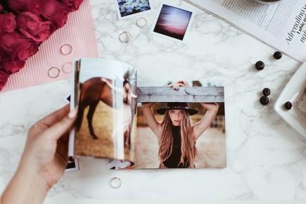 Pomysł na mini portfolio dla fotografów - Lifestyle by Fiorka