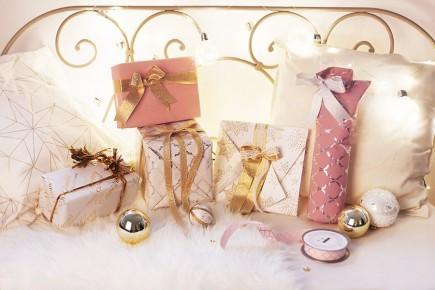 Święta w pięknym stylu - 3 sposoby na pakowanie prezentów