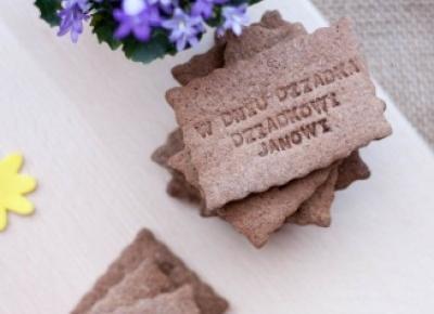 Kakaowe kruche ciasteczka na Dzień Dziadka - Fitkot
