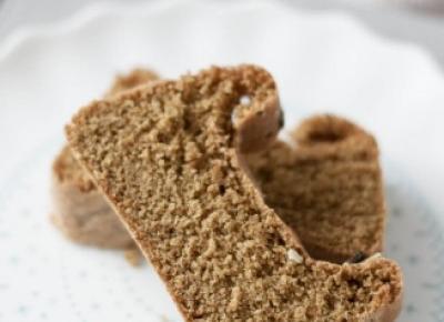Ciasto biszkoptowe z mąką dyniową - Fitkot